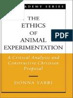 The Ethics of Animal