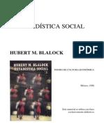 Blalock - Estadistica Social