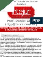 INTEJUR Técnicas Especiais de Estudo Para PGFN AGU e Atualidades de Direito Público1