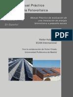 Manual Instalaciones Fotovoltaicas Domésticas