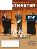 Toastmaster Magazine 2014-06