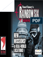 Rainbow Six - Eagle Watch - Manual - PC