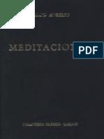 Marco Aurelio Antonino Augusto, Meditaciones