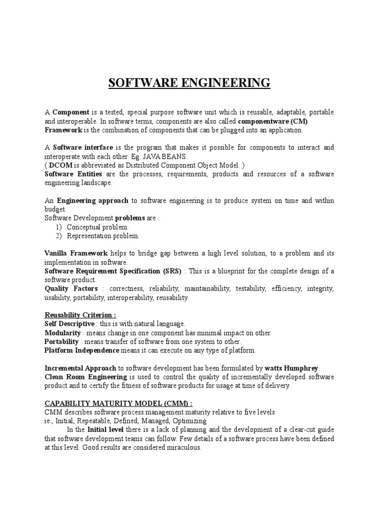 Software engineering component based software engineering software engineering component based software engineering interoperability malvernweather Image collections