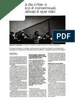 Aguiar, Nuno - Artigo - Anatomia Da Crise - O Diagnóstico é Consensual, As Alternativas é Que Não