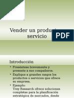 Vender Un Producto o Servicio