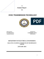 Report on HVDC Transmission
