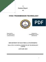 Report on HVDC Transmission