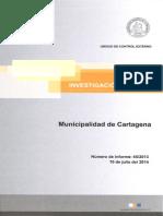 Informe Investigación Especial 65-13 Municipalidad de Cartagena - Julio 2014 (2)