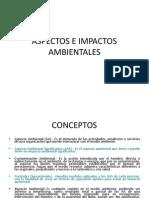 Charla de Capacitacion Aspectos e Impactos