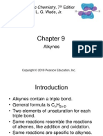 Ch 9 Alkynes