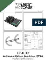Leroy Somer D510C AVR