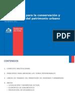 Lineamientos Para La Conservación y Revitalización Del Patrimonio Urbano Minvu Pilar Giménez