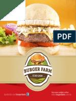 Cardápio Burger Farm