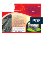 Concrete Covering Blocks