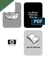 Manual HP Office Jet 6110