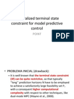 Generalized Terminal State Constraint for Model Predictive Control