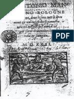 Antonio Manciolino - Fencing Manual