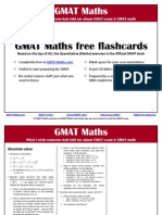 GMAT Maths Free Flashcards