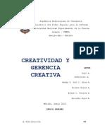 Que Es La Creatividad Final