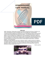 Vendaje Neuromuscular Kinesiology Tape Manual