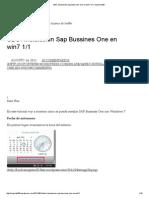 SBO_ Instalación Sap Bussines One en Win7 1_1 _ Soporte 900