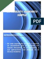 Movimiento Armonico Simple (M.a.S) Jr