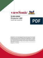 PLED-W500 User Guide Spanish-Español