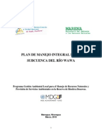 20 Plan de Manejo Rio Wawa Bosawas ODM