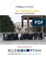 Geneva-Paris ST Report 2013