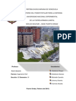Trabajo de Talud (Geologia)