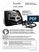 Manual Jump Starter DC Power Source