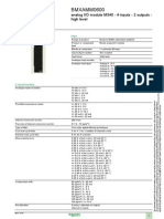 Modulo Analogo Bmxamm0600