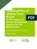 Sustentabilidade Etanol Ingles