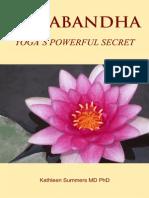 Mula Bandha - Yoga's powerful secret