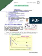 Unidad 3_Equilibrio Quimico 2ºBachQuimica