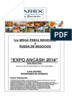 Resumen Ejecutivvo_feria Regional Ancassh 2014_16.6.14