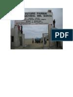 Foto de Entrada y Letrero Del Parque Industrial Nvo Chimbote