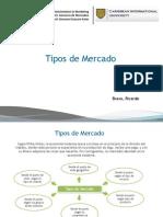 Tipos de Mercado Ricardo Bravo