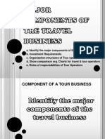 Major Components of the Travel Business