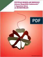 Bahan Kreativitas Sekolah Minggu 17 Agustus 2014 PIA Kumetiran