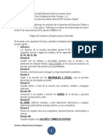 Encuadre Bimestral Artes Visuales I y II Ciclo 2014 -2015