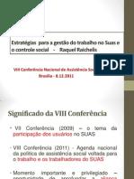 Raquel Raichelis-3ª Mesa