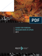 Guide Foreign Researchers 2011-EnG
