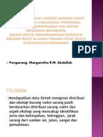 PEMODELAN SPASIAL HABITAT BURUNG WALET SARANG PUTIH (.pptx
