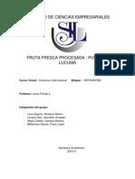 Pulpa de Lucuma - Comentada