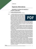 El Desarrollo Caprino en Venezuela