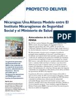 Una Alianza Modelo INSS MINSA
