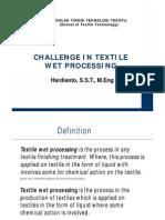 Ato-Challange in Textile Processing