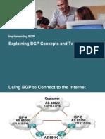 BGP over Internet